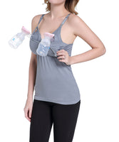 iLoveSIA Women's stretch Nursing Maternity Breastfeeding Tank Tops - iLoveSIA
