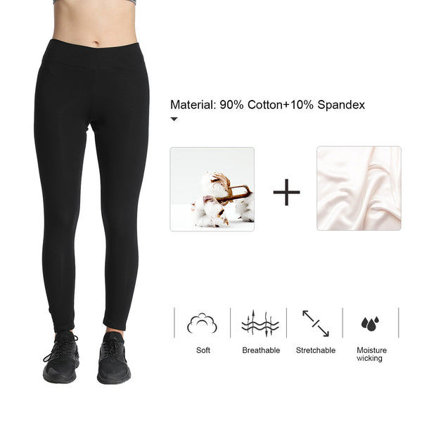 e8add988da1bf2 iLoveSIA Women Fleece Yoga Pants Capri Leggings Tights