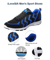 iLoveSIA Men's Casual Sport Sneakers Shoes for Walking Running 4168 - iLoveSIA