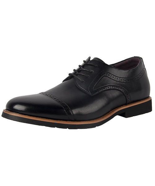 iLoveSIA Men's Dress Leather Shoes Classic Lightweight Oxford Shoes