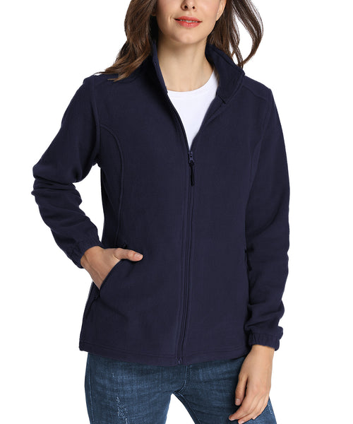 iLoveSIA Womens Warm Full Zip Fleece Jacket  - iLoveSIA