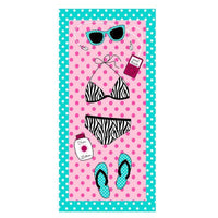 iLoveSIA Beach Towel Travel Towel Quick Drying Bath Towel 2Pack - iLoveSIA