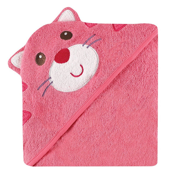 iLoveSIA Unisex Baby Cotton Animal Face Hooded Towel 00-221 - iLoveSIA