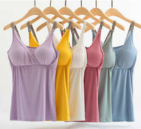 iLoveSIA Women's Nursing cozy Cami Maternity Breastfeeding Tank Tops - iLoveSIA