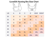 iLovesia Nursing Bra Breast Feeding Bra Womens Stretch Maternity Bra - iLoveSIA