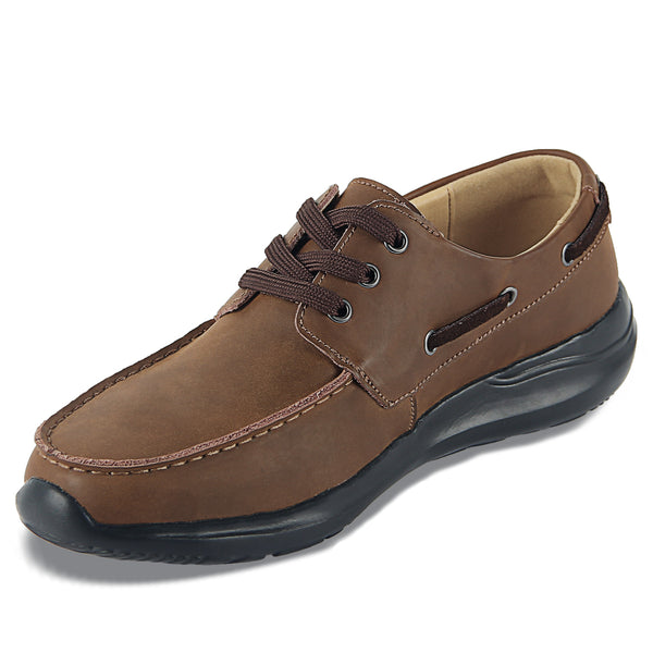 iLoveSIA Oxford Shoes for Men,Casual Leather Shoes with Shoelaces - iLoveSIA