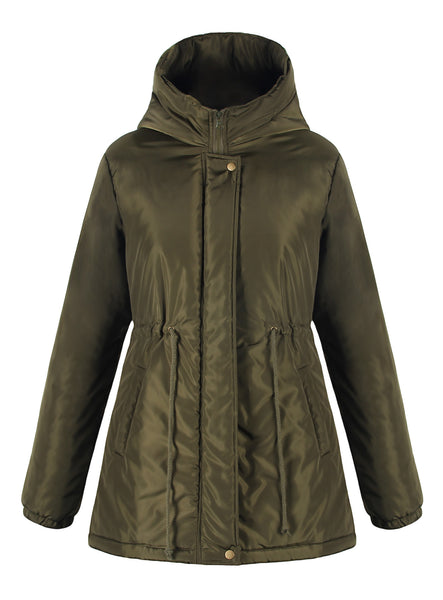 iLoveSIA Womens Down Jacket Super Warm Lightweight Hooded Jacket - iLoveSIA