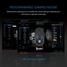 Load image into Gallery viewer, SADES REVOLV3R RGB Light 10,000dpi Professional Gaming Mouse