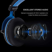 Load image into Gallery viewer, SADES Mpower Blue Gaming Headset 3.5mm For PC/Laptop/PS4/Xbox One(2015 version)/Mobile/VR/Nintendo Switch