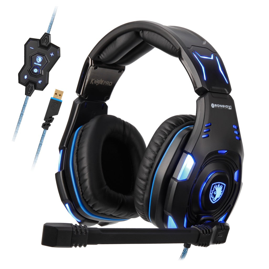 SADES Knight Pro (Bonglovi Audio) Gaming Headphone with mic