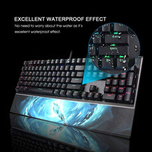 Load image into Gallery viewer, SADES Frost Staff (LK Mechanical Switches & Waterproof) Professional Gaming Keyboard