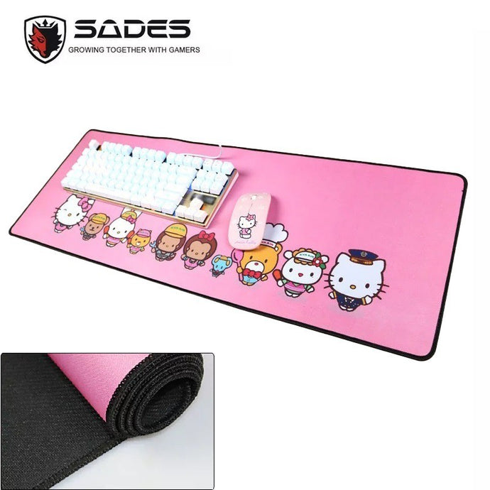 Hello Kitty High Quality Anti-skid XL-size Gaming Mousepad