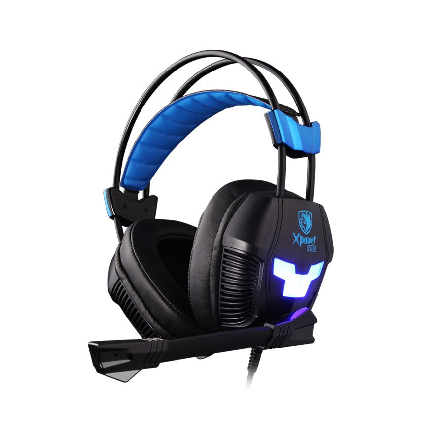 SADES Xpower Plus Gaming Headphone with mic