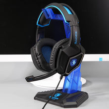 Load image into Gallery viewer, SADES Professional Gaming Bundle (Keyboard+Mouse+Headset+Stand+Mousepad)