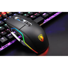 Load image into Gallery viewer, SADES REAL RGB Mechanical Keyboard + Aurora RGB Mouse