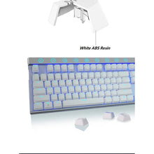 Load image into Gallery viewer, SADES Ice Shadow Mechanical Blue Switches Alloy Metal Gaming Keyboard