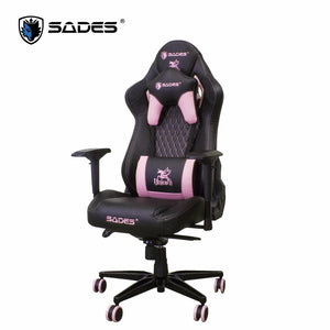 (Limited Edition) SADES Unicorn (Pink) Professional Leather Gaming Chair