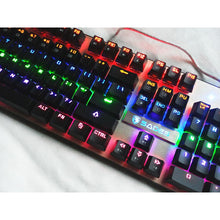 Load image into Gallery viewer, (Bundle) SADES BaleFire Black Blue Switches 9 Backlight Modes 104 Keys Real Mechanical Keyboard with Gaming Mouse