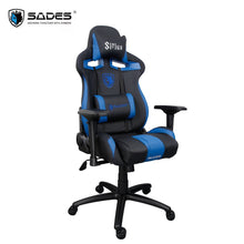 Load image into Gallery viewer, SADES Sirius (Blue) Professional Premium Quality Leather Gaming Office Chair