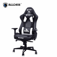 Load image into Gallery viewer, SADES Pegasus (White) Professional High Quality Leather Gaming Office Chair