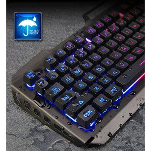 SADES Blademail v2 White Gaming Keyboard + Mouse