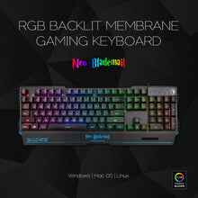 Load image into Gallery viewer, SADES Neo Blademail Real RGB Backlit Gaming Keyboard