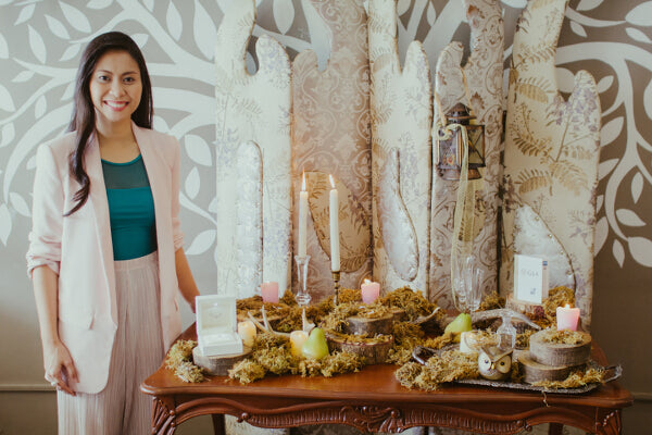 YOUNG FILIPINA JEWELLERY DESIGNER GERMEE RONIROSE ABESAMIS LAUNCHES DEAREST BRIDAL JEWELLERY COLLECTION.