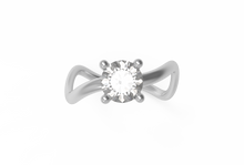 Load image into Gallery viewer, Eternity Diamond Engagement Ring | Dearest