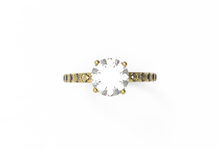 Load image into Gallery viewer, Pavé Diamond Engagement Ring | Dearest