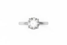 Load image into Gallery viewer, Solitaire Diamond Engagement Ring | Dearest