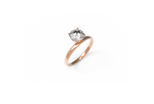 Load image into Gallery viewer, Sunrise Diamond Engagement Ring | Dearest