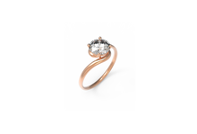 Load image into Gallery viewer, Svelte Diamond Engagement Ring | Dearest