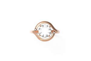 Trip Diamond Engagement Ring | Dearest