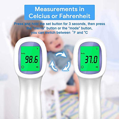 Best No Contact Infrared Thermometer for Humans