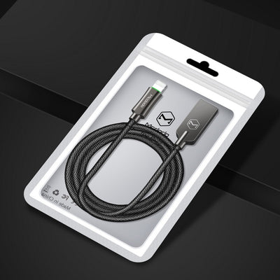 MCDODO SLEEK V3 Lightning Auto Recharge Cable -4.2FT