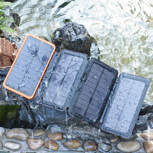 25000mAh Solar Charger Portable Solar Power Bank Waterproof External Battery Pack | ADDTOP | HI S025