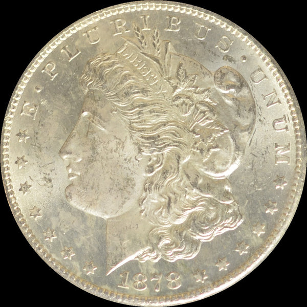 1878-CC GSA Morgan Silver Dollar NGC MS63