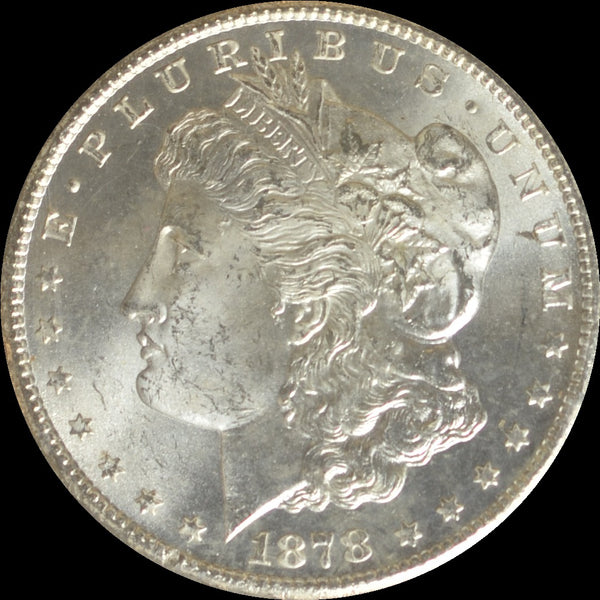 1878-CC GSA Morgan Silver Dollar NGC MS64