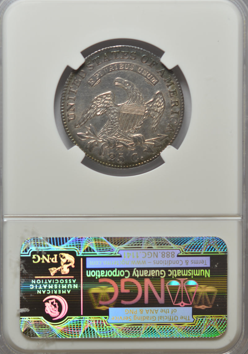 1820 Capped Bust Quarter Small O NGC MS66+