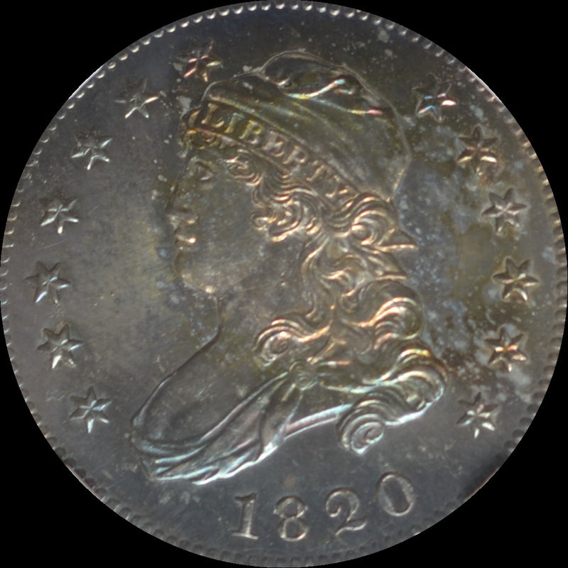 1820 Capped Bust Quarter Small O MS66+