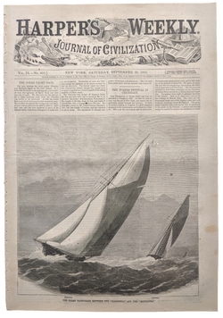 1865 Harper's Weekly   dated Sept 30
