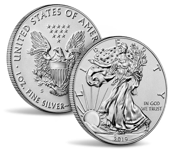 2019 S American Silver Eagle Enhanced Reverse Proof