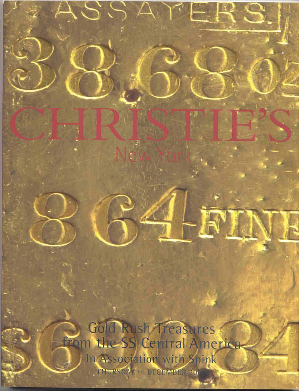 Christie's New York: Gold Rush Treasures from the SS Central America