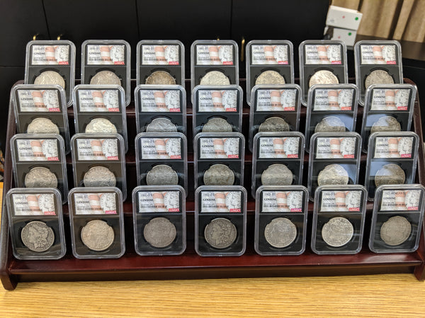 The Morgan 28-Coin Date Set