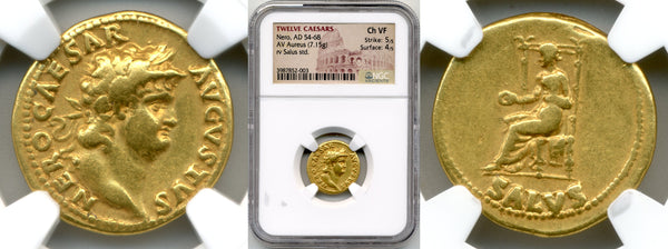 Nero Aureus  /  NGC Choice VF Strike: 5/5, Surface: 4/5