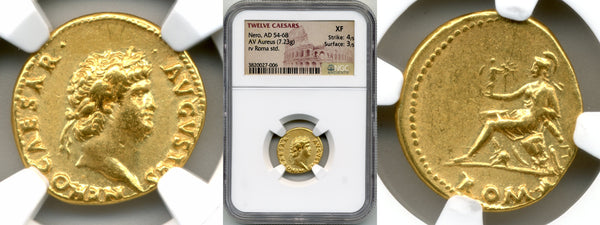 Nero Aureus  /  NGC XF Strike: 4/5, Surface: 3/5