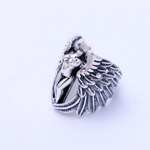 Holy Headless Guardian Angel Ring