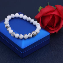 Load image into Gallery viewer, White Turqouise Bracelet