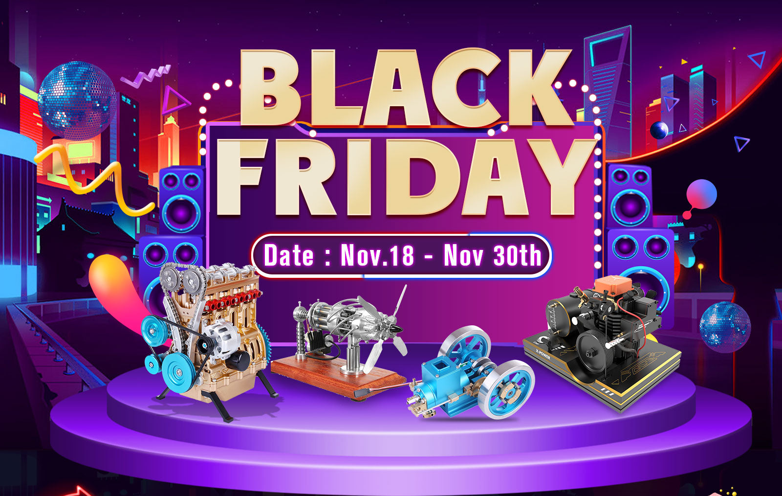 black friday deals of stirling engine -stirlingkit