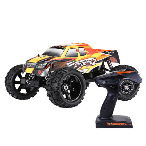 ZD Racing 9116 V3 1/8 2.4G 4WD Brushless Motor RC Car Monster Off-road Truck - RTR Version - stirlingkit